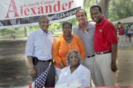 Attending Delegate Kenny Alexanders Annual Cook Out 2011