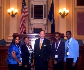 ESCC Students visit the General Assembly in Richmond