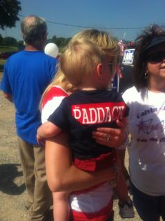 A young Paddack supporter!